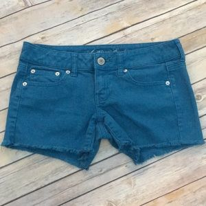 American Eagle Turquoise Shorts